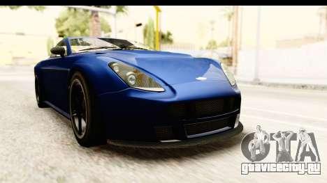 GTA 5 Dewbauchee Rapid GT для GTA San Andreas вид справа