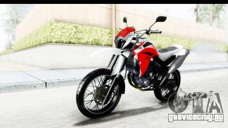 Yamaha XT 660R для GTA San Andreas вид справа