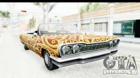 Savanna New PJ для GTA San Andreas вид сзади