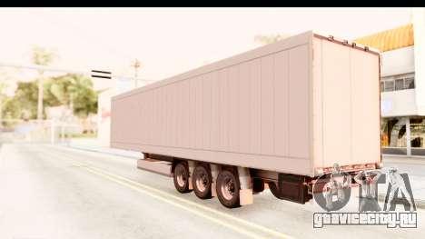 Trailer ETS2 v2 Nr. 2 для GTA San Andreas вид слева