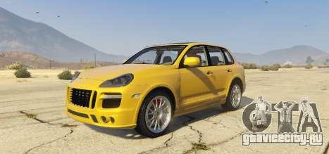 Porsche Cayenne Turbo 2010 для GTA 5