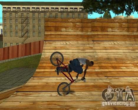 New HD Glen Park для GTA San Andreas десятый скриншот