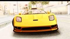 GTA 5 Progen Tyrus SA Style для GTA San Andreas