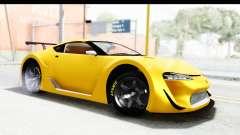 GTA 5 Emperor ETR1 v2 SA Lights для GTA San Andreas