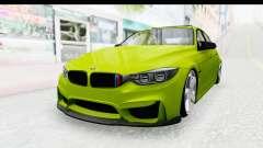 BMW M3 F30 Hulk