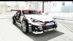 D1GP Toyota 86 2015 DRIVE для GTA San Andreas