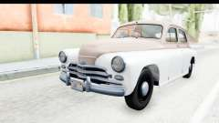 ГАЗ М20В Победа 1955 SA Plate