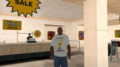 Bart Simpson T-Shirt для GTA San Andreas