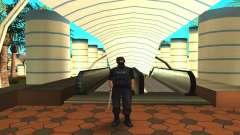 Изменённый оригинальный скин SWAT для GTA San Andreas