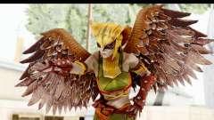 Injustice God Among Us - Hawk Girl для GTA San Andreas