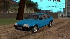 ВАЗ 2109 с литыми дисками для GTA San Andreas