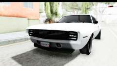 Chevrolet Camaro SS 1968 White Edition для GTA San Andreas