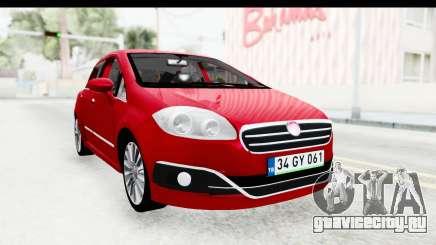 Fiat Linea 2015 v2 для GTA San Andreas