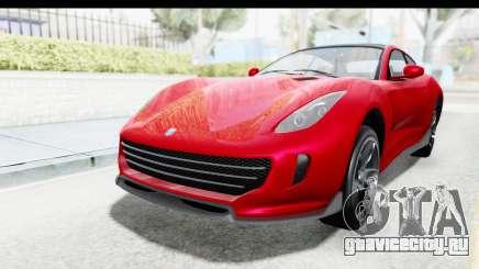 GTA 5 Grotti Bestia GTS with MipMap IVF для GTA San Andreas