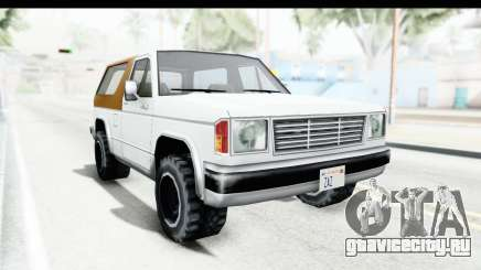 Ford Bronco from Bully для GTA San Andreas
