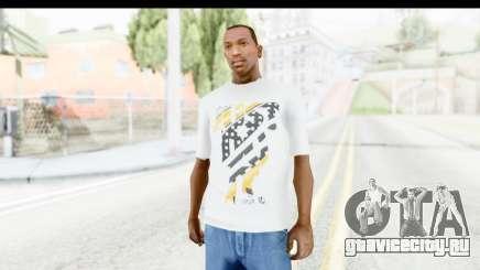 Nike Kyrie Notebook T-Shirt для GTA San Andreas