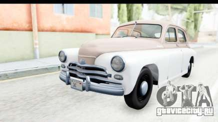 ГАЗ М20В Победа 1955 SA Plate для GTA San Andreas