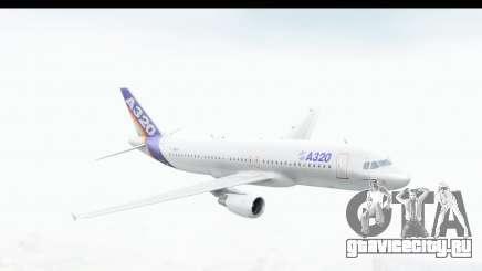 Airbus A320-200 Industrie MSN 1 1987 First Fligh для GTA San Andreas