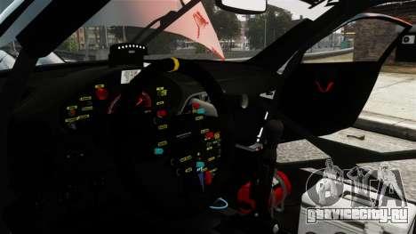 Porsche Rallye Vespas 911 GT3 RSR для GTA 4 вид сзади
