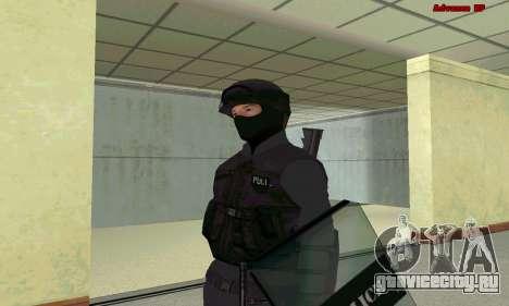 Скин SWAT из GTA 5 для GTA San Andreas
