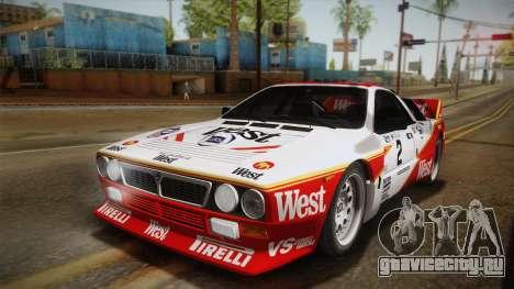Lancia Rally 037 Stradale (SE037) 1982 IVF Dirt3 для GTA San Andreas