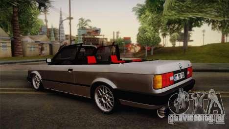 BMW M3 E30 1991 v2 для GTA San Andreas вид слева