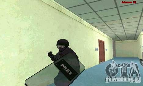 Скин SWAT из GTA 5 (PS3) для GTA San Andreas второй скриншот