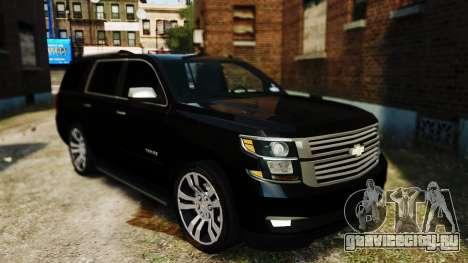 Chevrolet Tahoe 2015 V1.1 для GTA 4