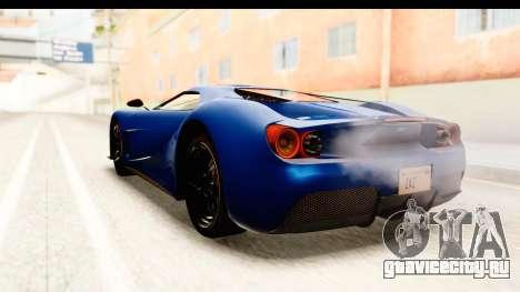 GTA 5 Vapid FMJ SA Style для GTA San Andreas вид справа