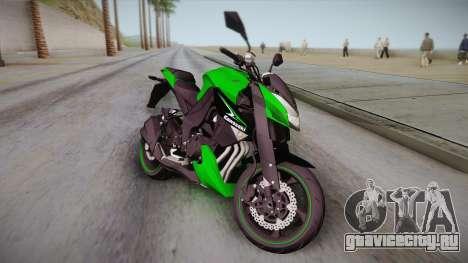 Kawasaki Z1000 2013 для GTA San Andreas