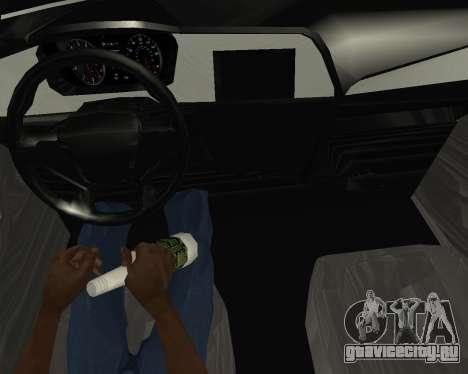 Hyundai Sonata Armenian для GTA San Andreas вид сзади