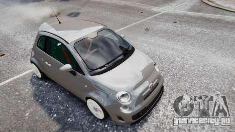 Fiat 500RB для GTA 4 вид справа