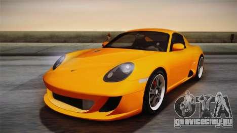 Ruf RK Coupe (987) 2007 IVF для GTA San Andreas