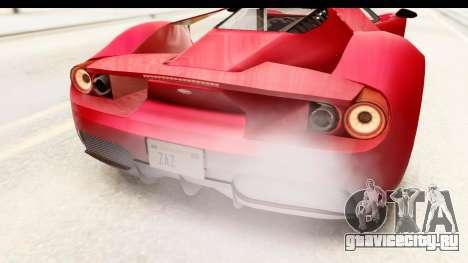 GTA 5 Vapid FMJ IVF для GTA San Andreas вид сверху