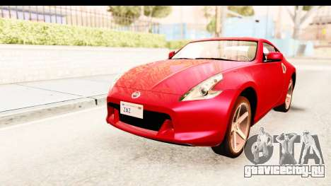 Nissan 370Z 2010 для GTA San Andreas