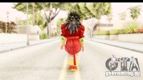 Dragon Ball Xenoverse Broly SSJ4 для GTA San Andreas третий скриншот