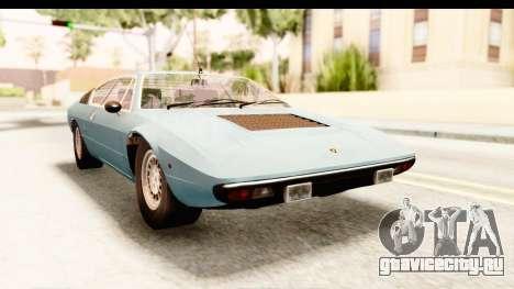 Lamborghini Uracco P300 39 для GTA San Andreas