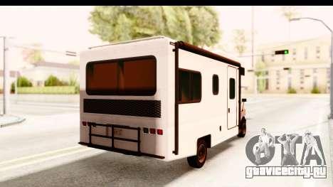GTA 5 Camper для GTA San Andreas вид слева