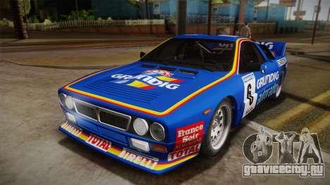 Lancia Rally 037 Stradale (SE037) 1982 IVF Dirt3 для GTA San Andreas вид справа