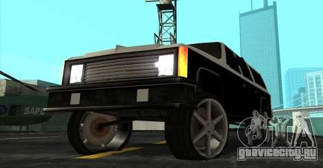 FBI Rancher Tuning для GTA San Andreas вид справа