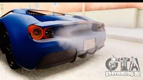 GTA 5 Vapid FMJ SA Style для GTA San Andreas вид изнутри