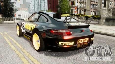 Porsche Rallye Vespas 911 GT3 RSR для GTA 4 вид слева