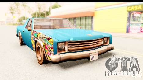 Picador Sticker Bomb для GTA San Andreas