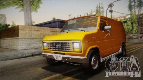 Ford E-150 Commercial Van 1982 2.0 IVF для GTA San Andreas вид изнутри