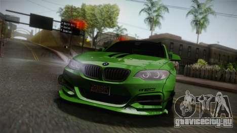 BMW M235i 69Works для GTA San Andreas вид сверху