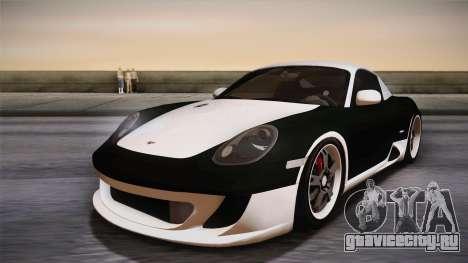 Ruf RK Coupe (987) 2007 IVF для GTA San Andreas колёса