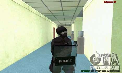Скин SWAT из GTA 5 (PS3) для GTA San Andreas девятый скриншот