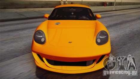 Ruf RK Coupe (987) 2007 IVF для GTA San Andreas вид сбоку