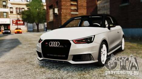 Audi S1 Quattro 2015 для GTA 4