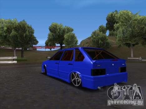 VAZ 2114 Sport для GTA San Andreas вид справа